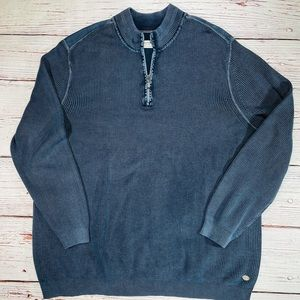 Tommy's Bahama Jeans Quarter Zip Sweater